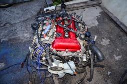 SR20DET S13 Red Top 5 Speed