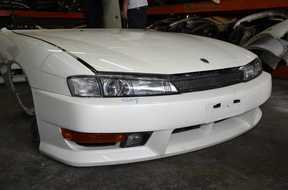 Dsc7378 Nissan Silvia S14 Jdm Oem Kouki Front Nose Cut