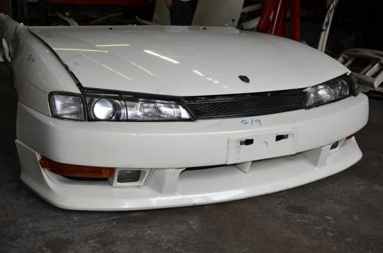 Dsc7394 Nissan Silvia S14 Jdm Oem Kouki Front Nose Cut