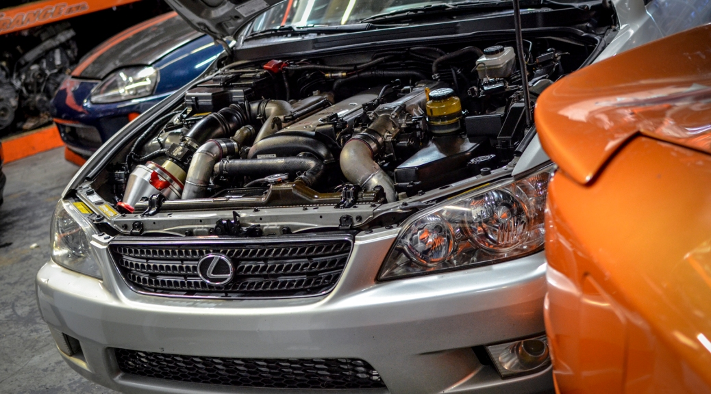 Lexus IS300 1JZGTE VVTI 5 Speed Swap | DRAG International