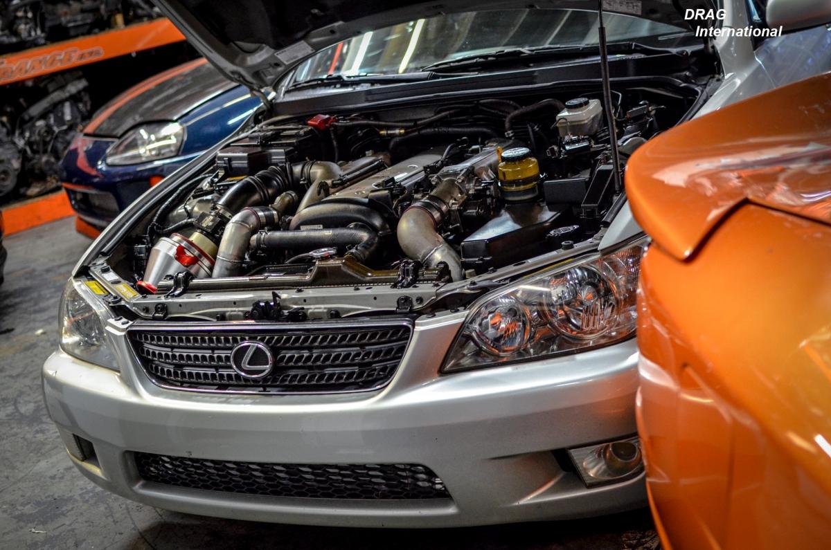 Lexus is300 1jzgte vvti 5 speed swap