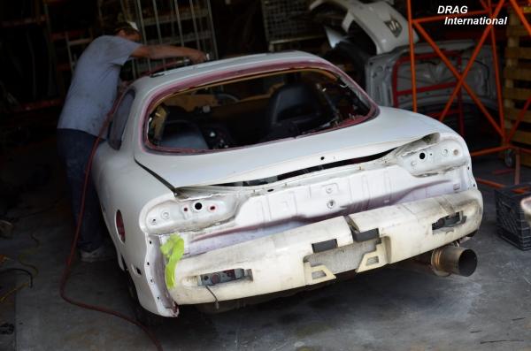 Returning an FD to its Apex! Mazda RX7 Restoration | DRAG