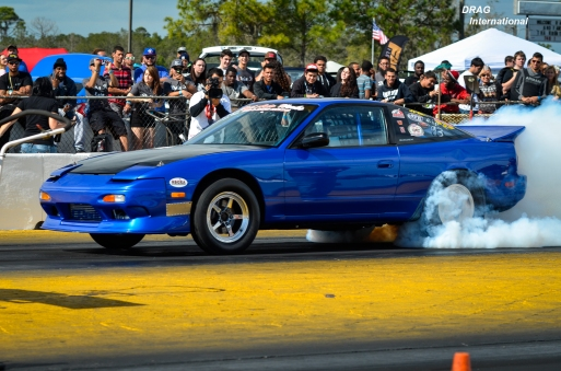 S13 massive burnout!