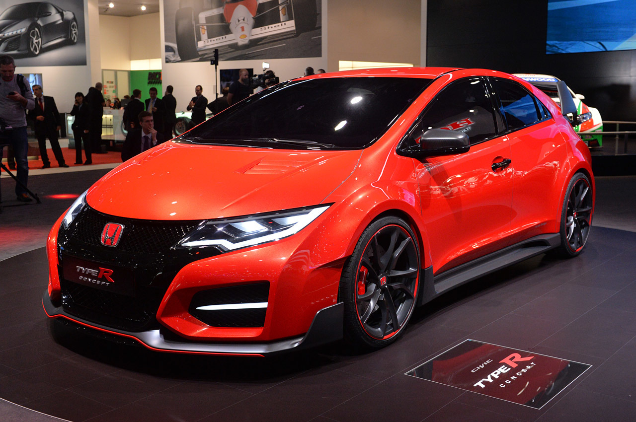 03 honda civic type r concept geneva 1 drag international. Black Bedroom Furniture Sets. Home Design Ideas