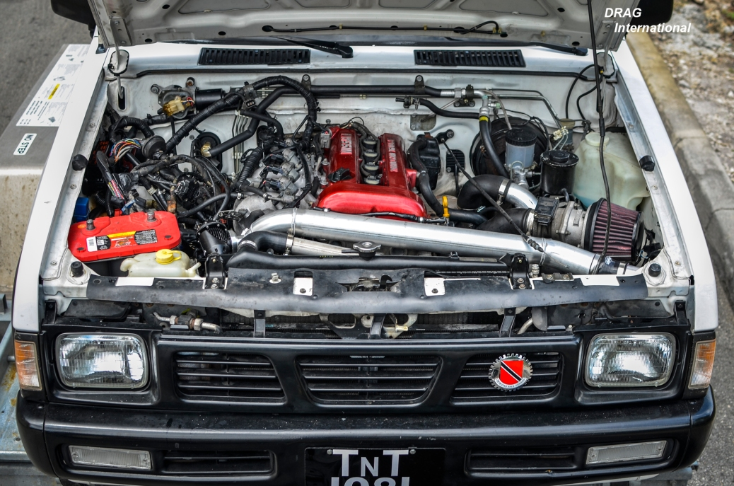 Nissan Pickup Gets Sr20det Power  Now Its Hardbody