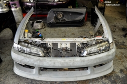 JDM S14 Kouki Conversion with Radiator Support