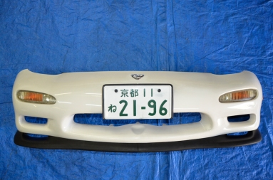 RX7 Type R JDM Front Bumper with Plate Efini