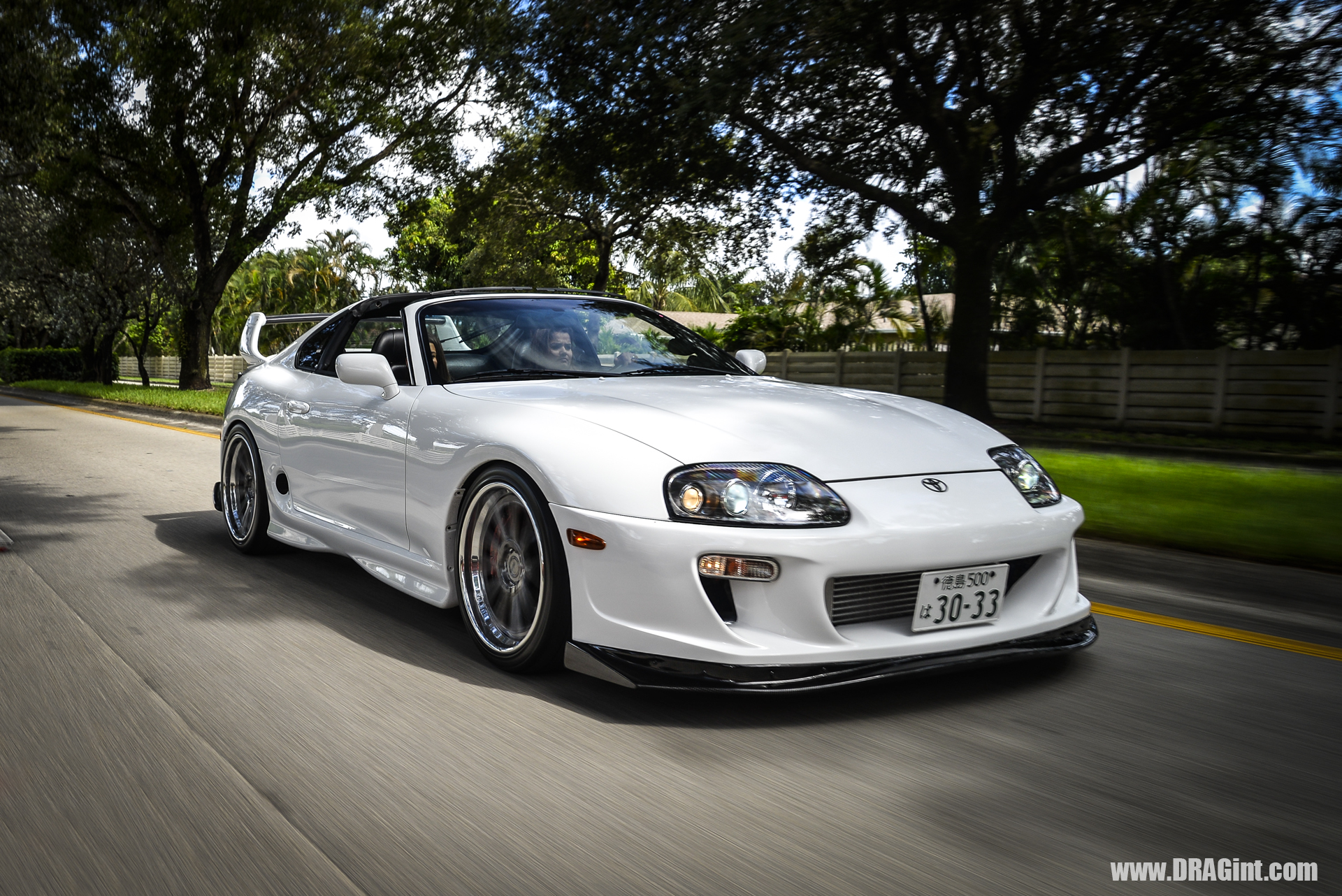 DRAGint.com Project White Heat U2013 Supra Turbo 6 Speed + JDM Flare + 1050 HP