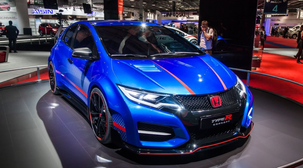 news civic type r 2016 spotted ohio state non sure but i. Black Bedroom Furniture Sets. Home Design Ideas