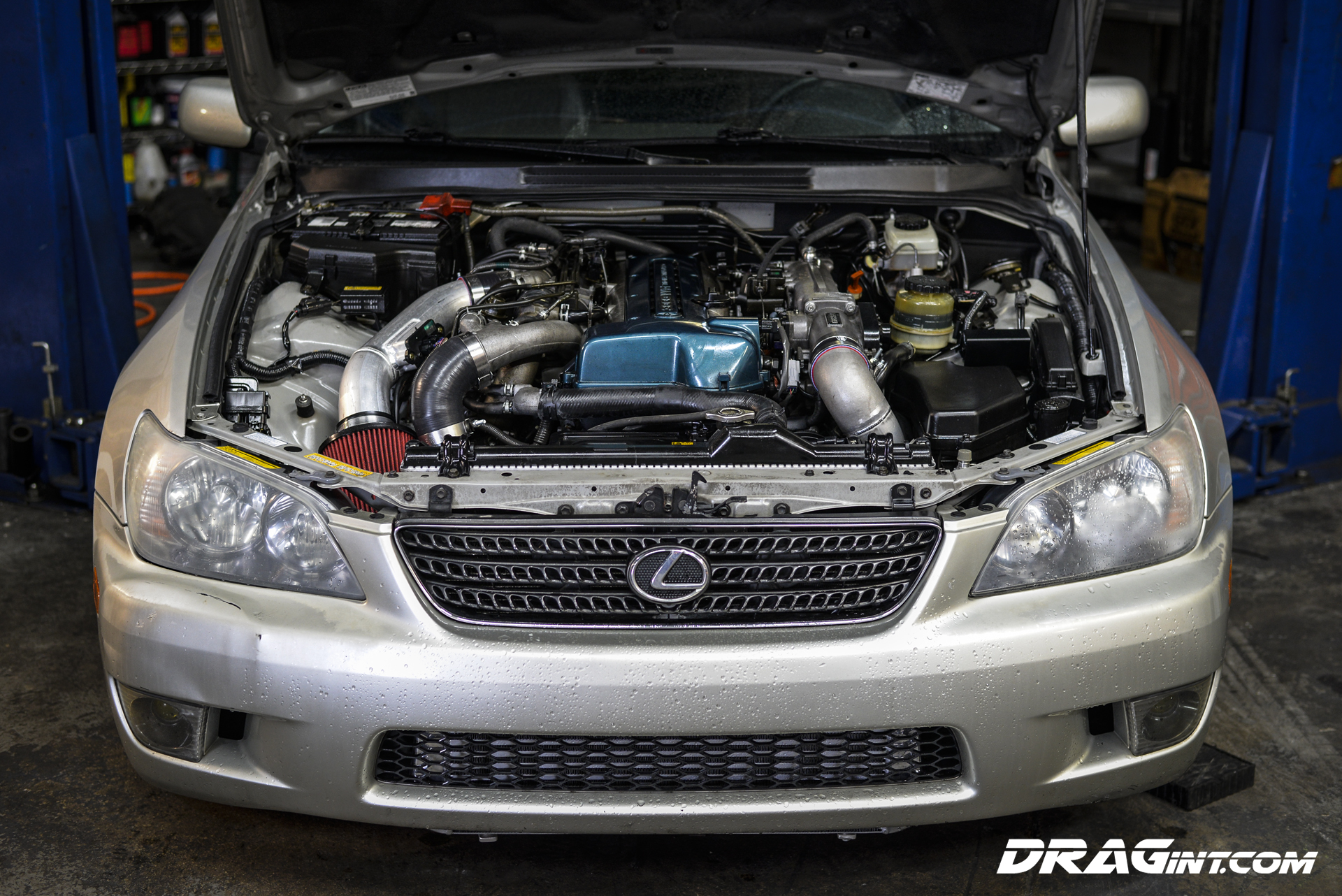 DRAGint.com IS300 Twin Turbo VVTI Swap 2JZGTE
