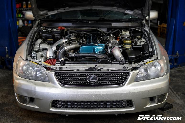 DRAGint.com IS300 Twin Turbo VVTI Swap 2JZGTE