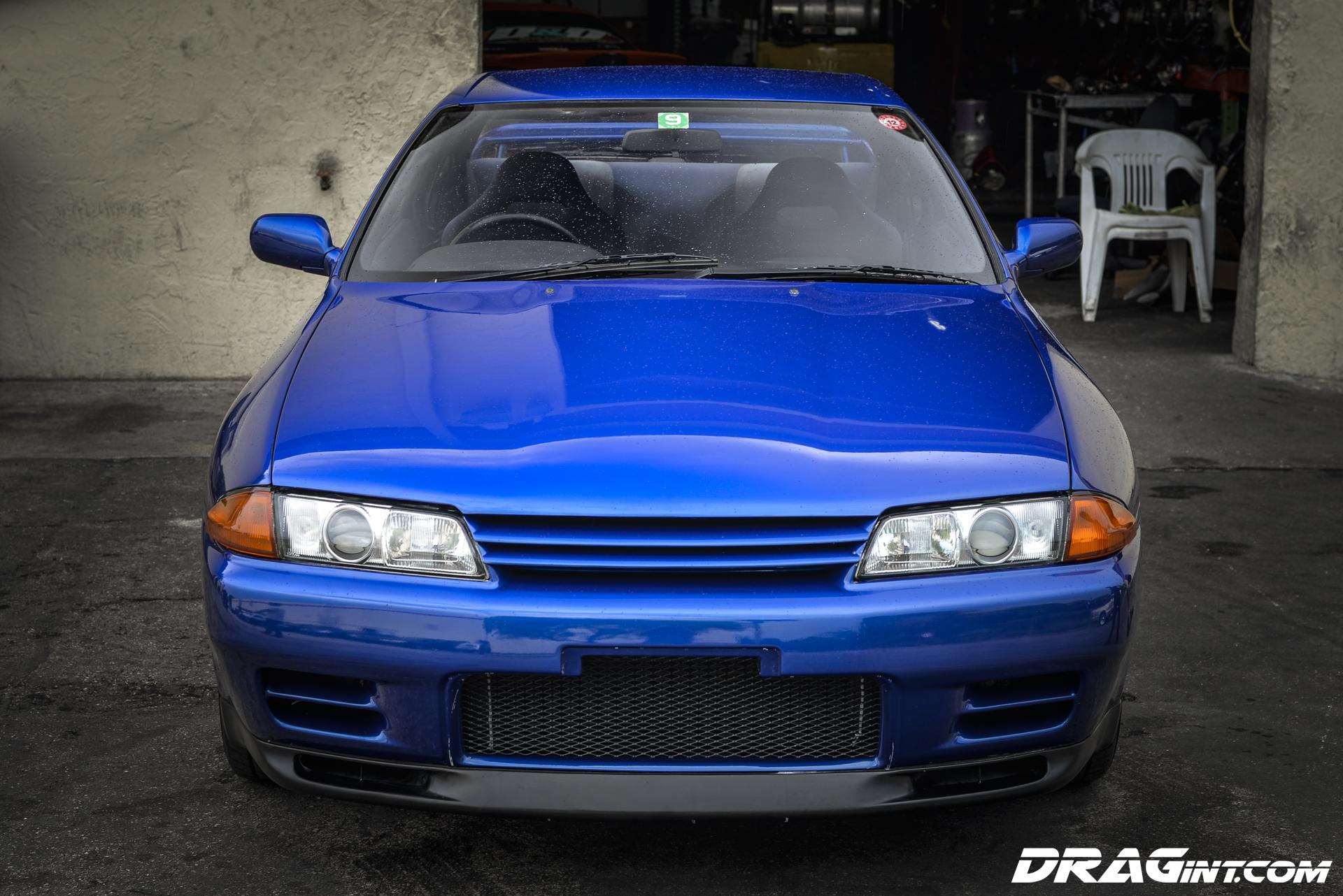 JDM Import : R32 Skyline GTR in Best Blue Ever! | DRAG ...