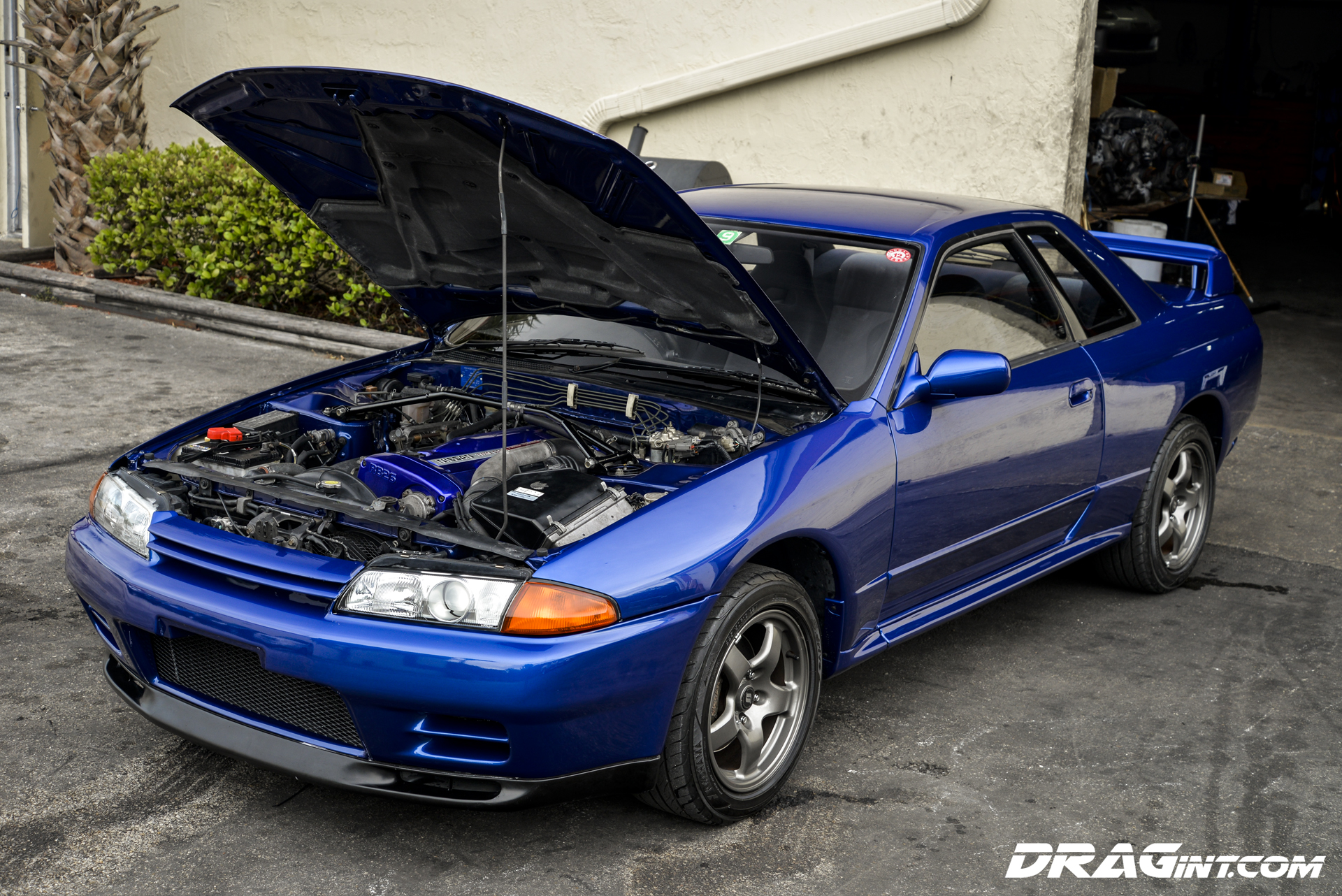 Jdm Import R32 Skyline Gtr In Best Blue Ever Drag