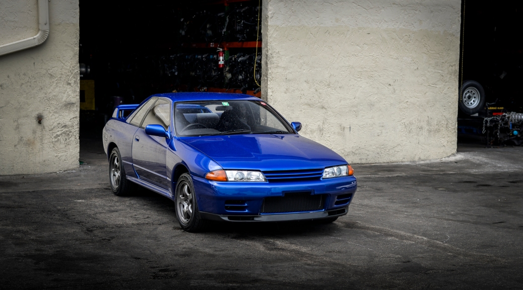 Jdm Import R32 Skyline Gtr In Best Blue Ever Drag International