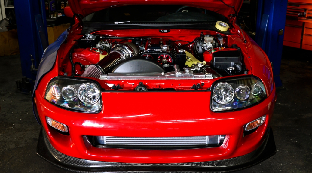 5101b8b0ebe4 Shop Project – 1995 Supra Renaissance Red Hard Top 1275HP