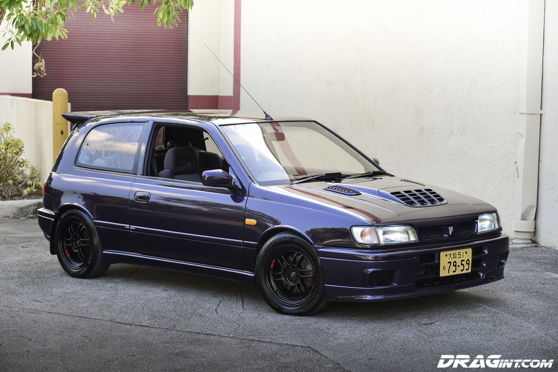 imported 1991 nissan pulsar gti r midnight purple baby. Black Bedroom Furniture Sets. Home Design Ideas