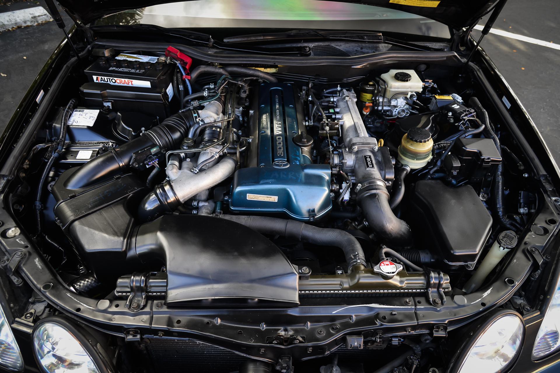 SWAP SERVICE : DRAGint com 2JZGTE Aristo Twin Turbo Swap