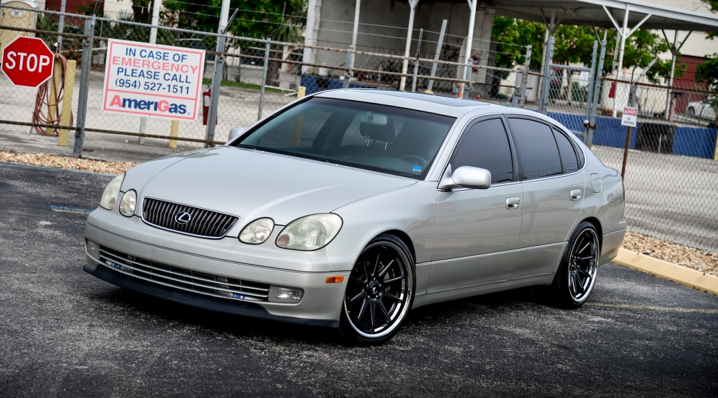 FOR SALE : 2JZGTE Swapped GS300 with BPU – Silver on Black – Clean